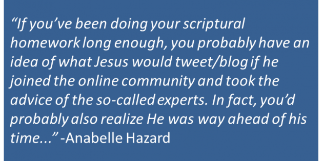 What Would Jesus Blog or Tweet?