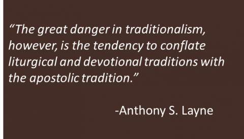 Anthony S. Layne - Tradition