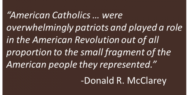 Catholics in the American Revolution