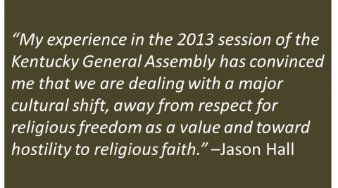 Jason Hall - Religious Liberty