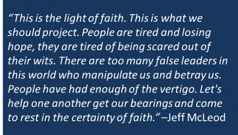 Jeff McLeod - Light of Faith