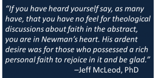 John Henry Newman on the Psychology of Faith and Reason