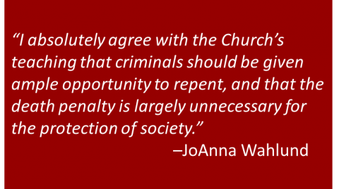 JoAnna Wahlund - Death Penalty