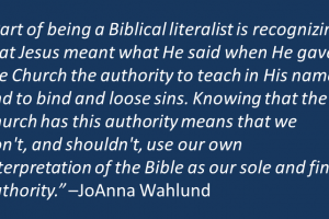 How To Be A Biblical Literalist