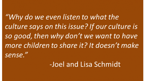 Joel and Lisa Schmidt - Share
