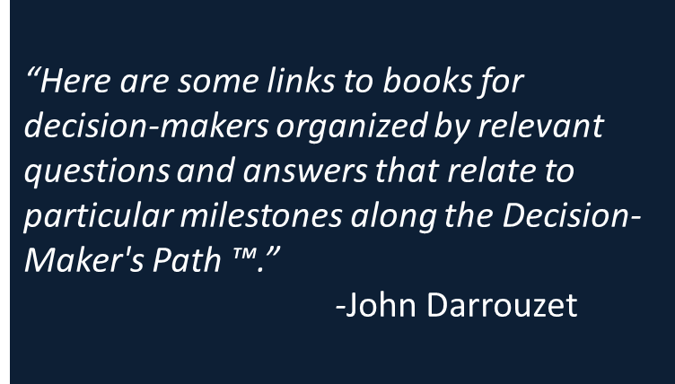 Books for Catholic Decision-Makers