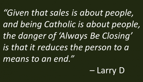 LarryD - Always be Catholic