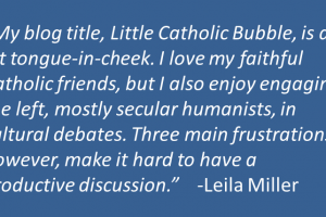 Why It\'s Hard to Dialogue With Secularists and Leftists