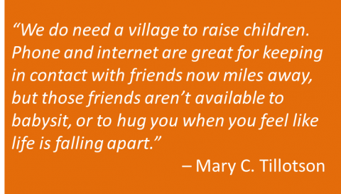 Mary C. Tillotson - Village