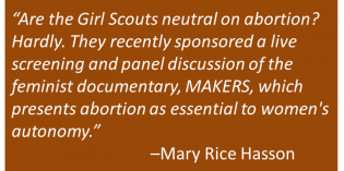 "The Girl Scouts: A ""Groundbreaking"" Feminist Moment"