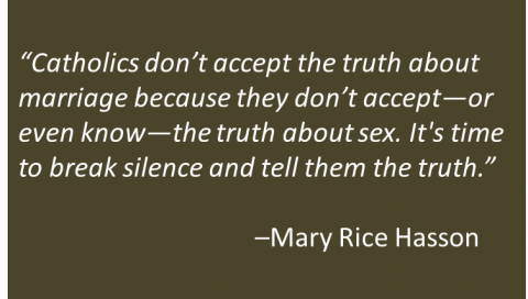 Mary Rice Hasson - Truth About Marriage