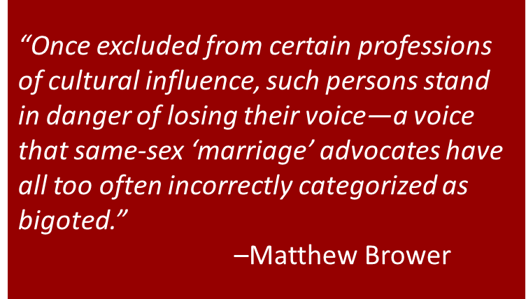 """Same-Sex \""""Marriage\"""": Why it Matters"""