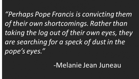 Melanie Jean Juneau - Pope Not Heretic