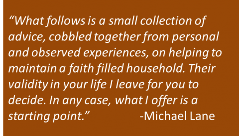 Michael Lane - Faith at Home