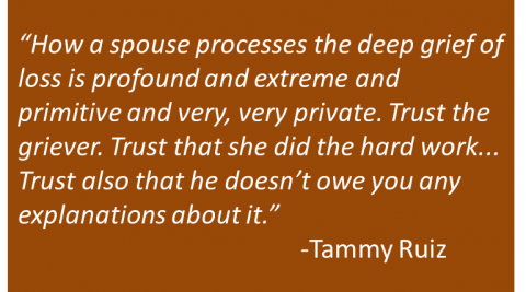 Tammy Ruiz - Widow's Advice